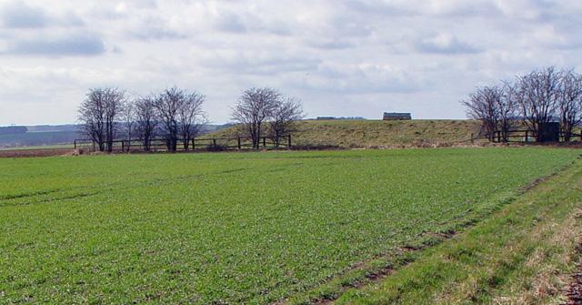 Covered Reservoir near Huggate, East Yorks.