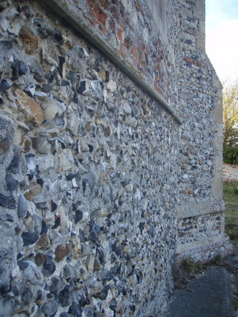 Haddiscoe Church Wall