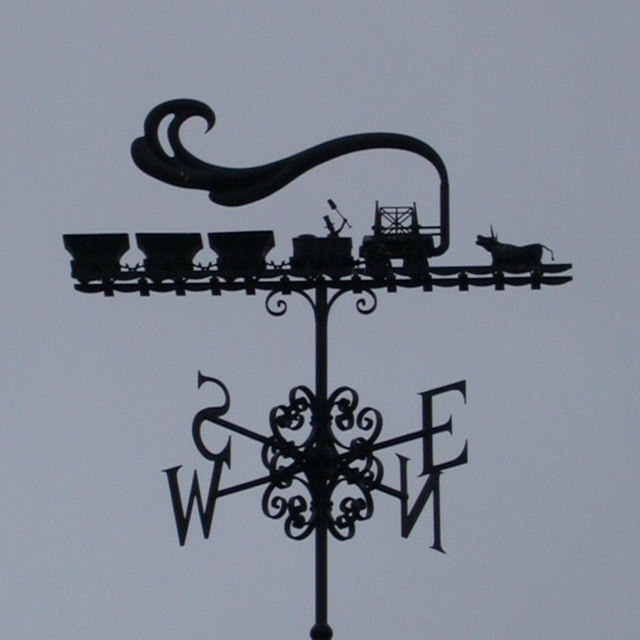 Pockerley Waggonway weather vane