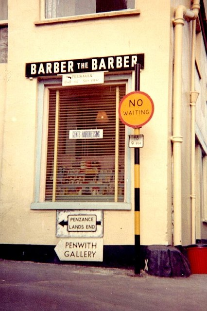 Barber the barber