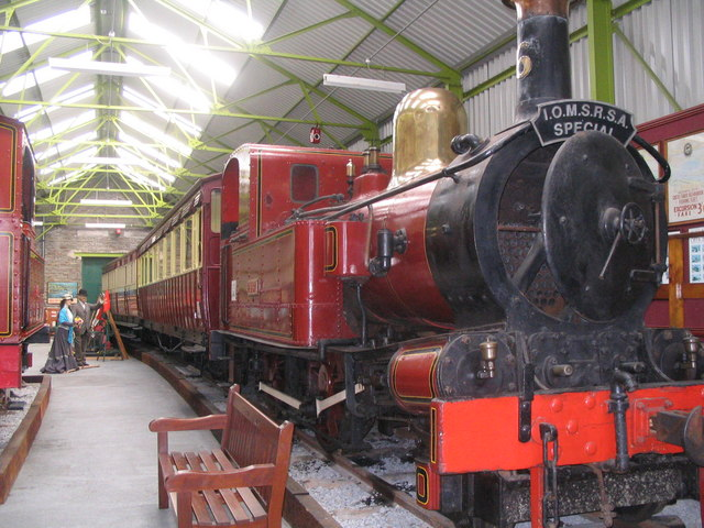 The Railway Museum at Port Erin