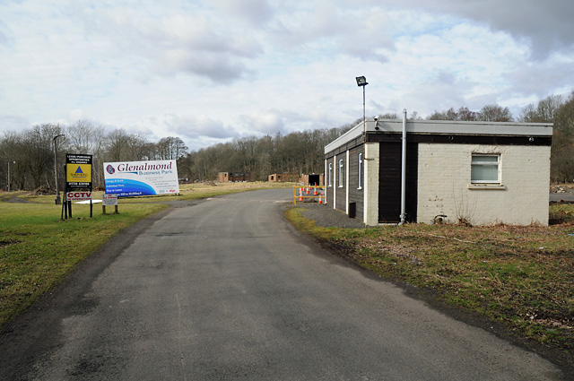 Glenalmond Business Park Entrance