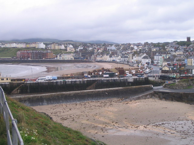 Peel Bay, from the Castle walls