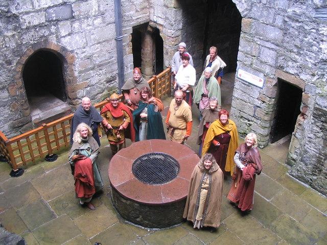 Vikings at Castle Rushen