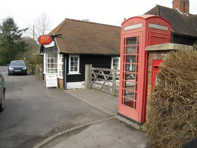 Chapel Row: post office