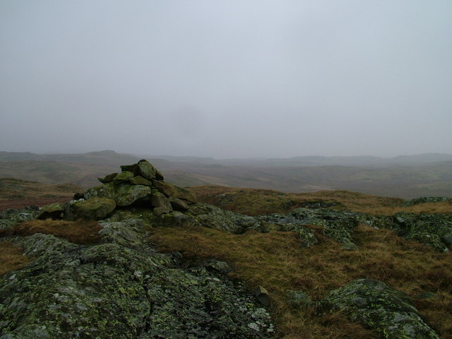 Cairn on Great Ladstones