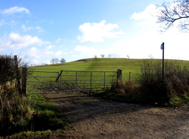 Footpath to Langton Caudle