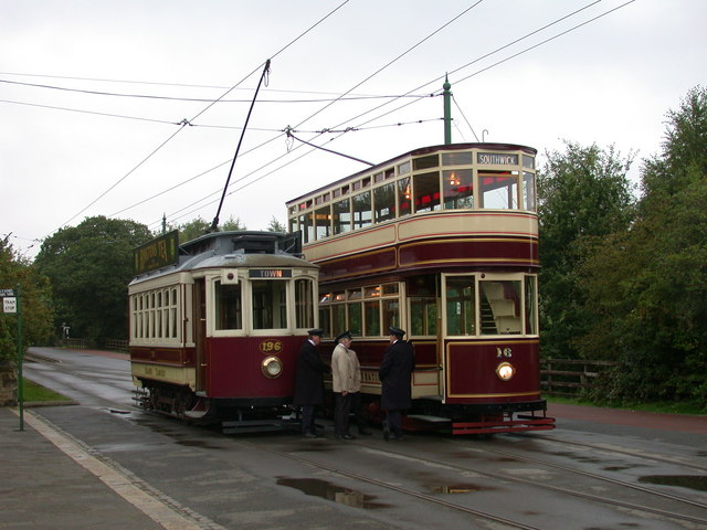 Trams that pass in the day