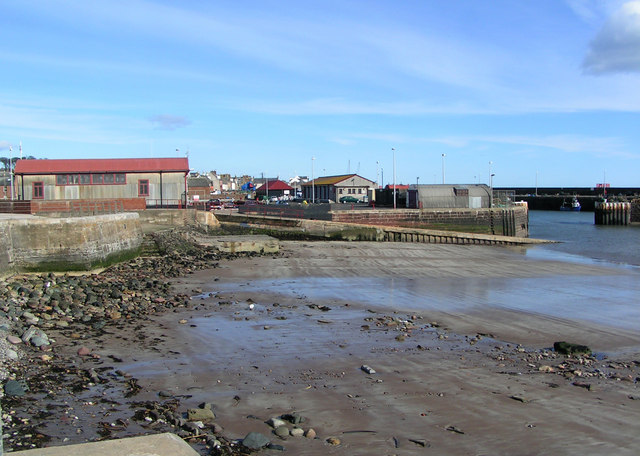 Arbroath Lifeboat Shed and Slipway