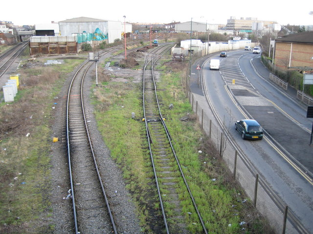 Neasden: Network Rail trackwork (1)