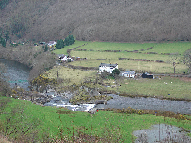 Rheidol Falls
