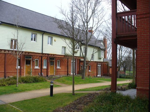 Terraced Housing, Queen Elizabeth Park