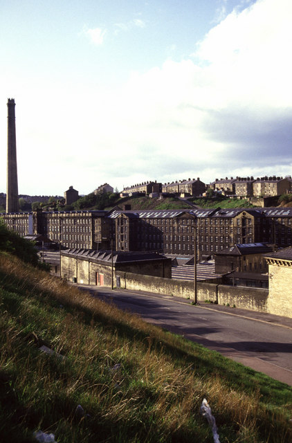Crossley's Dean Clough Mills