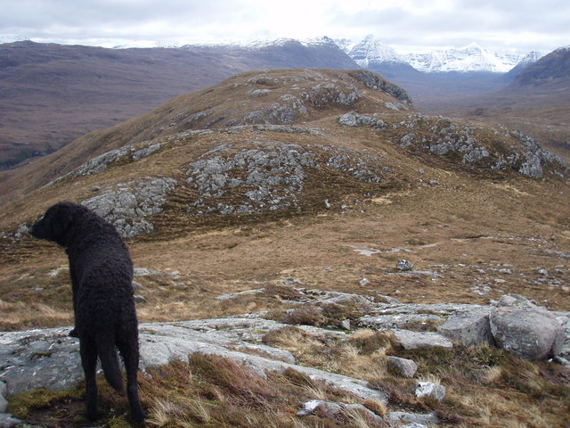 The South-East end of the Meall Garbhaig