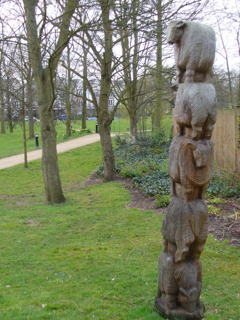 Sheep Sculpture, Queen Elizabeth Park