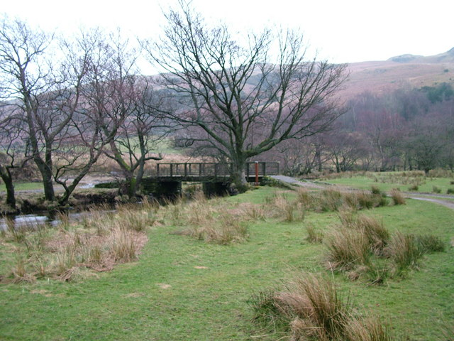 Footbridge over Swindale Beck