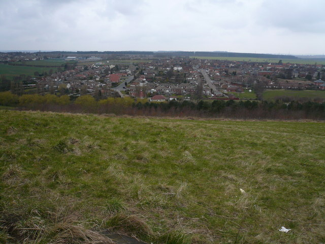 Vicar Water Country Park - Hill view of Clipstone