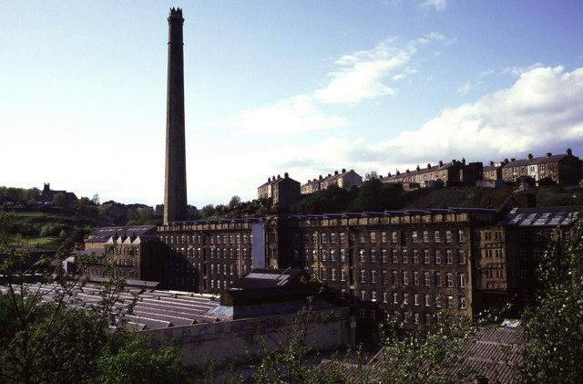 Crossley's Dean Clough Mill