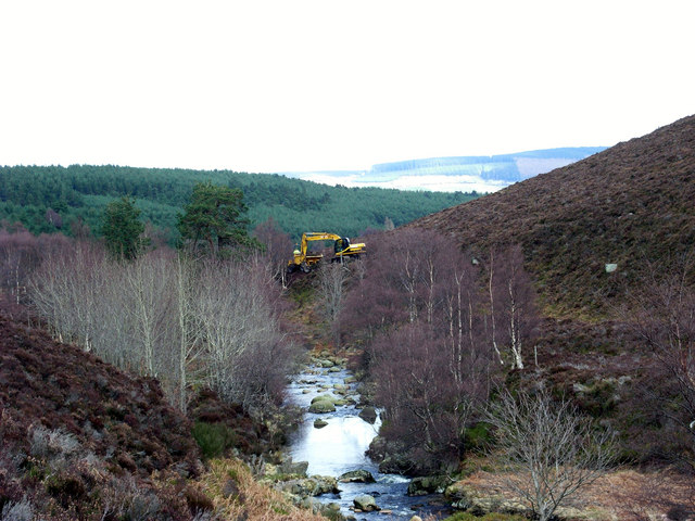 Water of Aven track construction