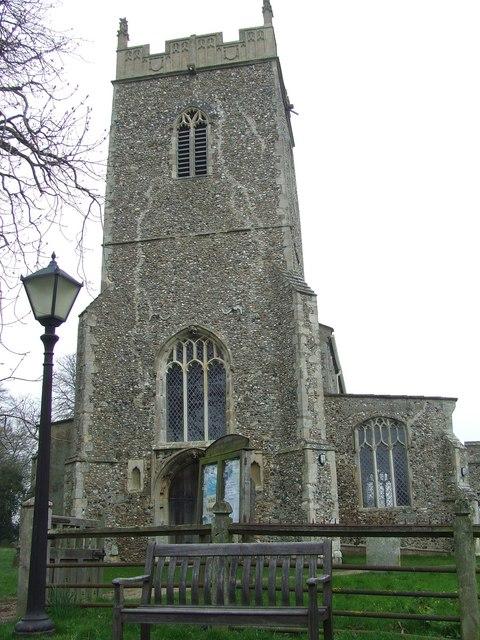St. Mary's,  Cratfield