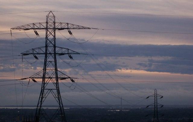 Pylons at Portsdown
