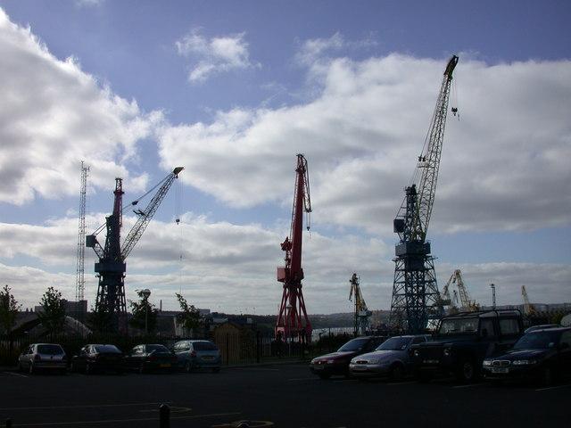 Wallsend Cranes