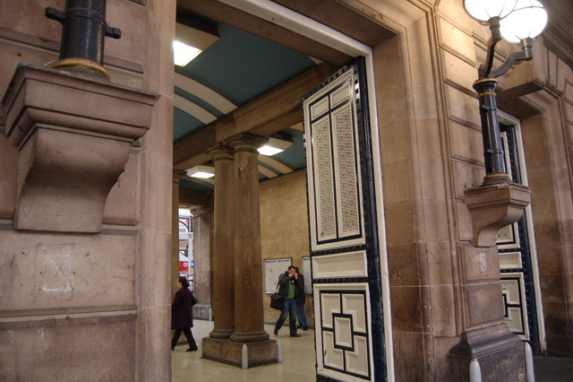 Way in, Newcastle Central Station