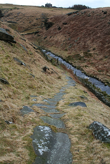 Old Packhorse route from Graining Water