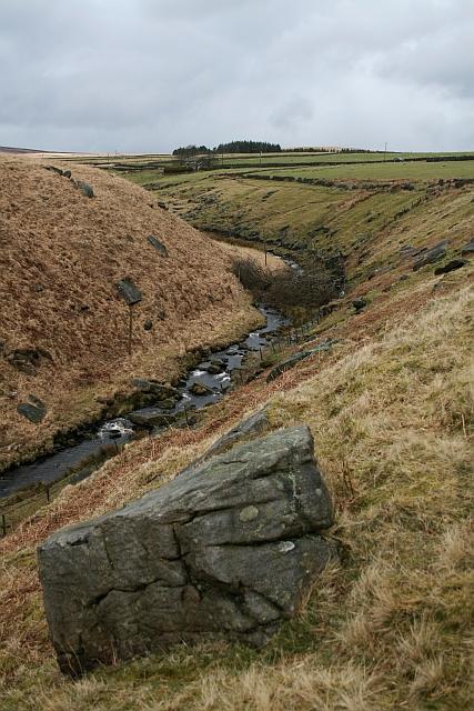 Bend in Graining Water