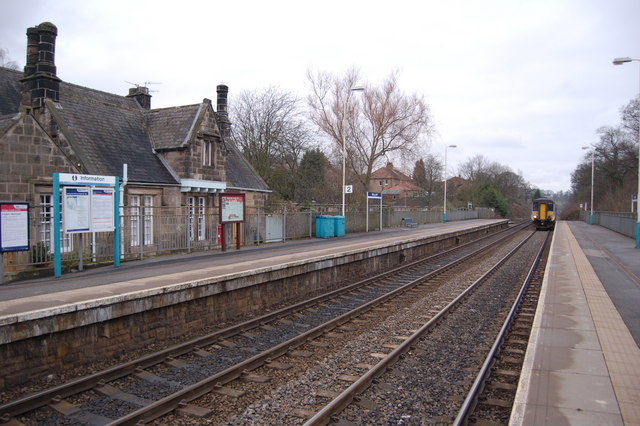 Riding Mill Station, Tyne Valley