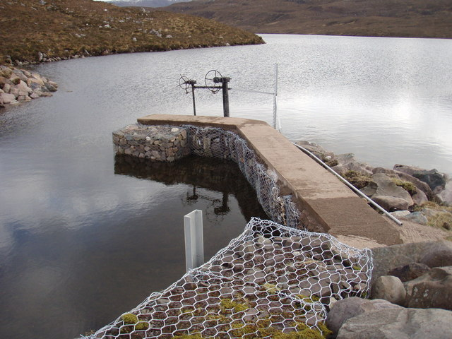 Pier on Loch Garbhaig