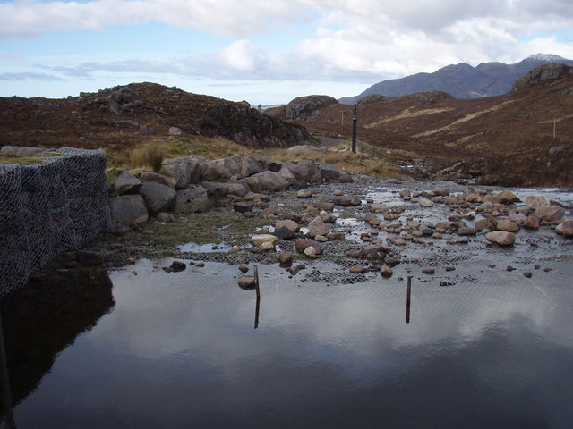 Outflow from Loch Garbhaig