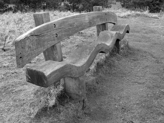 Resting place on the John Muir Way