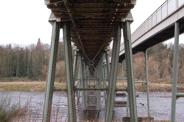 Ovingham road bridge