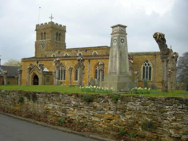 Long Buckby Church