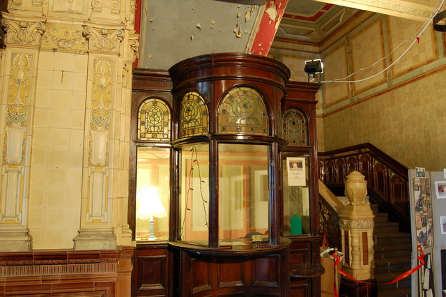 The old box office, Morecambe Winter Gardens