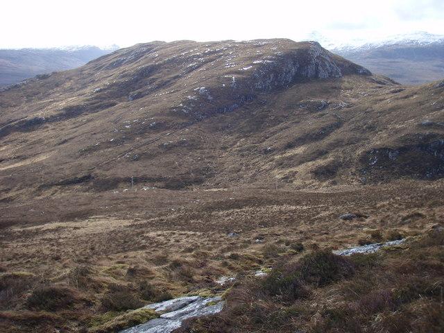 Over the bealach  to Meall Garbhaig