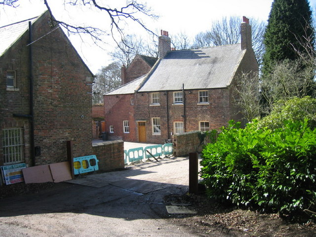 Shincliffe Hall rear view