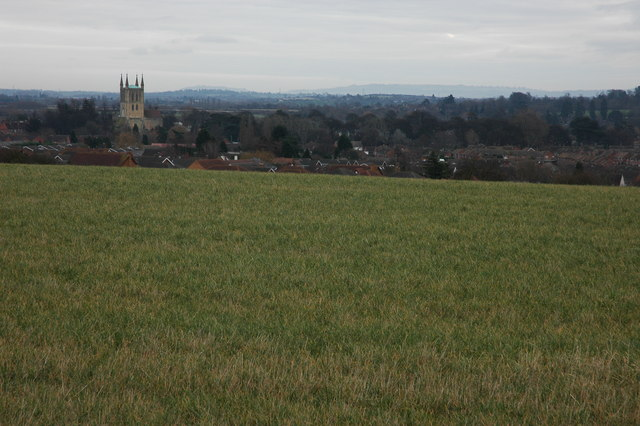 Field to the west of Pershore
