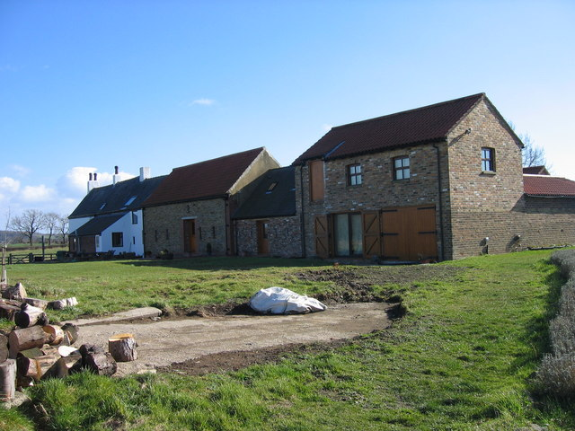 West Grange Farm (rear view and new buildings)