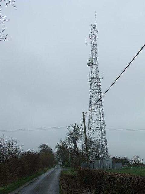 Transmitter mast