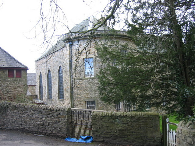 Chapel within Croxdale Hall (exterior view)