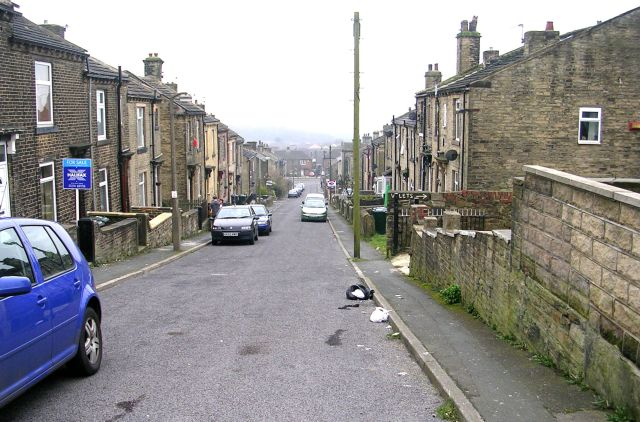 Orleans Street - viewed from Farfield Avenue