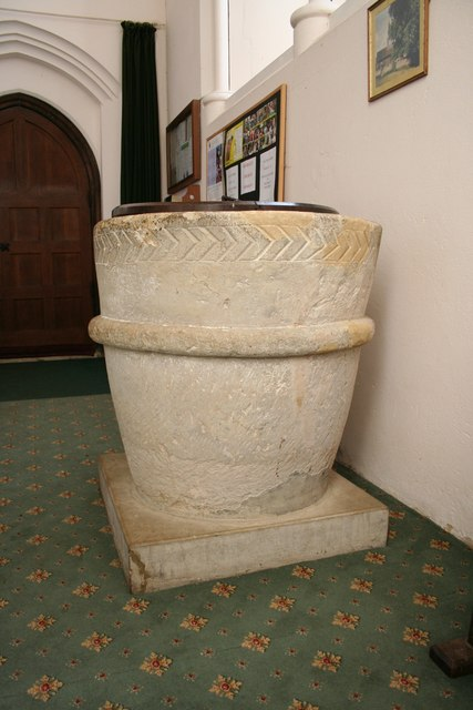 St.Michael & All Angels font