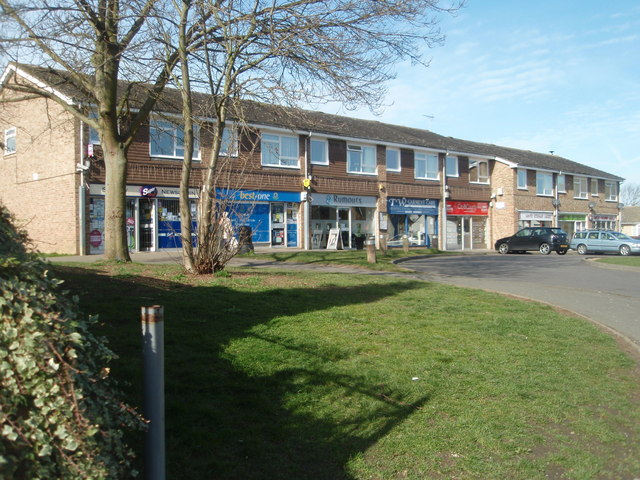 Greenways Shop Parade Sawtry