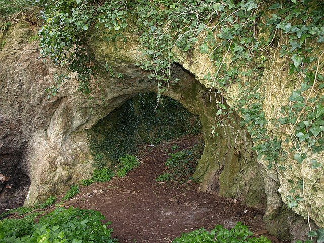 Natural arch, Stantaway Hill