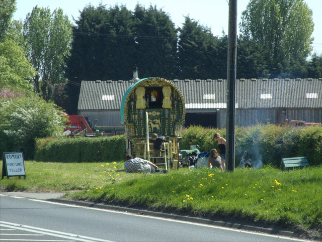 Travellers Pause on A1079