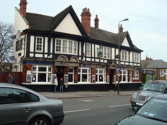 Railway Bell Public House, Tooting