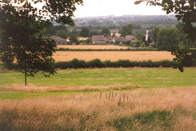 View from Hagg Wood, Hopton