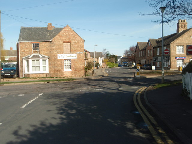 Green End Road Junction with Gidding Road